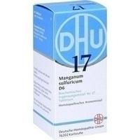 Biochemie 17 Manganum Sulfuricum D6 Tabletten