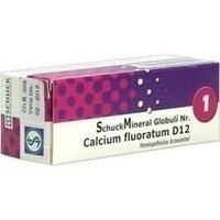 SCHUCKMINERAL Globuli 1 Calcium fluoratum D12