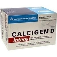 Calcigen D Intens 1000 Mg 880 I.e.kautabletten   120 Stück