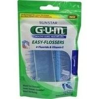 GUM Easy-Flossers Zahnseide inkl.Halter