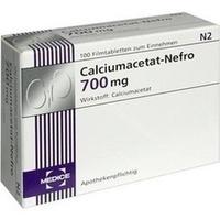 CALCIUMACETAT NEFRO 700 mg Filmtabletten