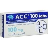 ACC 100 tabs Tabletten**