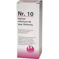 NR.10 Natrium sulfuricum D 6 spag.Glückselig