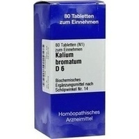 Biochemie 14 Kalium Bromatum D6 Tabletten