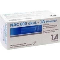 NAC 600 akut-1A Pharma Brausetabletten