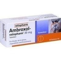 AMBROXOL ratiopharm 30 mg Hustenlöser Tabletten**