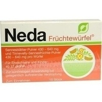 NEDA Früchtewürfel
