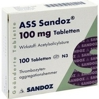 ASS Sandoz 100 mg Tabletten**