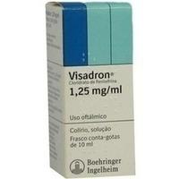 VISADRON 0,125% Augentropfen