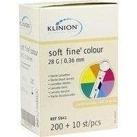 KLINION Soft fine colour Lanzetten 28 G