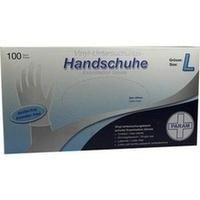 HANDSCHUHE Einmal Vinyl puderfrei L