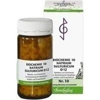 BIOCHEMIE 10 Natrium sulfuricum D 12 Tabletten