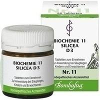 BIOCHEMIE 11 Silicea D 3 Tabletten**