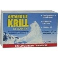 Antarktis Krill Komplex  Kapseln 60 ST