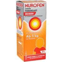 NUROFEN Junior Fiebersaft Erdbeer 2%