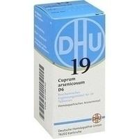 Biochemie 19 Cuprum Arsenicosum D6 Tabletten