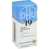 Biochemie 19 Cuprum Arsenicosum D12 Tabletten