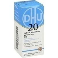 Biochemie 20 Kalium Aluminium Sulfuricum D12 Tabletten