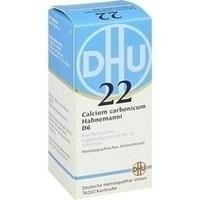 Biochemie 22 Calcium Carbonicum D6 Tabletten