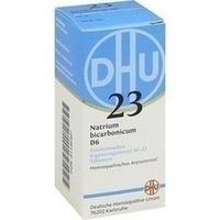 Biochemie 23 Natrium Bicarbonicum D6 Tabletten