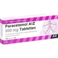 PARACETAMOL AbZ 500 mg Tablets