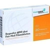 IBUPROFEN 400 mg akut Fair-Med Healthcare Filmtab.