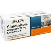 SIMETHICON ratiopharm 85 mg Kautabletten