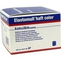 ELASTOMULL haft color 6 cmx20 m Fixierb.blau