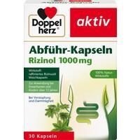 DOPPELHERZ Abführ-Kapseln Rizinol 1.000 mg**