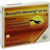 REISEFIT Hennig 50 mg Tabletten