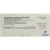 BRYOPHYLLUM ARGENTO cultum Rh D 3 Ampullen