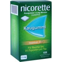 NICORETTE 2 mg freshfruit Kaugummi**