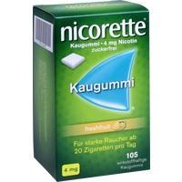 NICORETTE 4 mg freshfruit Kaugummi**