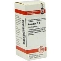 ACONITUM D 3 Globuli