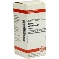 BARIUM CARBONICUM D 6 Tabletten