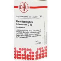 DHU MERCURIUS SOLUB. D 12 Globules