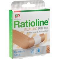 RATIOLINE elastic Wundschnellverband 8 cmx1 m