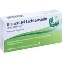 BISACODYL Lichtenstein 10 mg Suppositorien