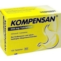 KOMPENSAN Tabletten 340 mg**