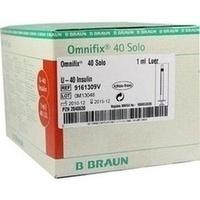 OMNIFIX Solo Insulinspr.1 ml U40