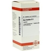 Asa Foetida D 3  Tabletten 80 ST