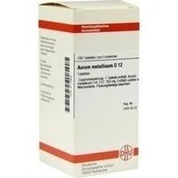 AURUM METALLICUM D 12 Tabletten