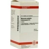 MERCURIUS SOLUBILIS Hahnemanni D 6 Tabletten