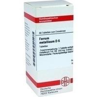 DHU FERRUM METALLICUM D 6 Tablets