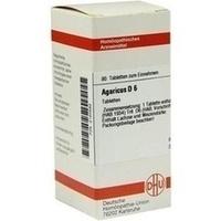 Agaricus D 6  Tabletten 80 ST