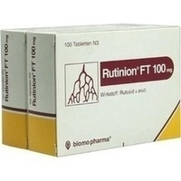 RUTINION FT 100 mg Tabletten