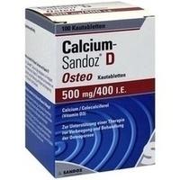 CALCIUM SANDOZ D Osteo 500 mg/400 I.E. Kautabl.**