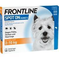 FRONTLINE Spot on H 10 Lösung f.Hunde