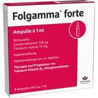 Folgamma Forte Ampullen   5X1 ml