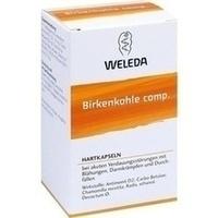 WELEDA BIRKENKOHLE Comp. Capsule - Carbo Betulae Comp. -